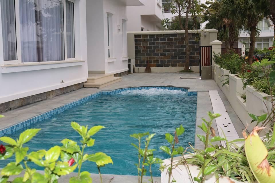Bể bơi trong nhà biệt thự FLC Sầm Sơn